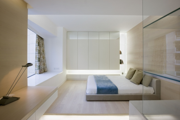 Very Modern Apartment Design Inspired By Nature Living Pod By Joey Ho Design DigsDigs