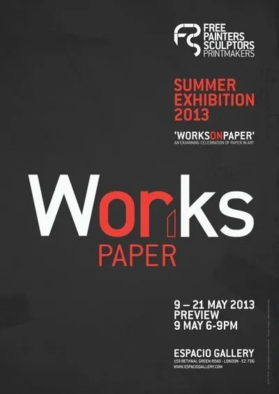 poster - works on paper