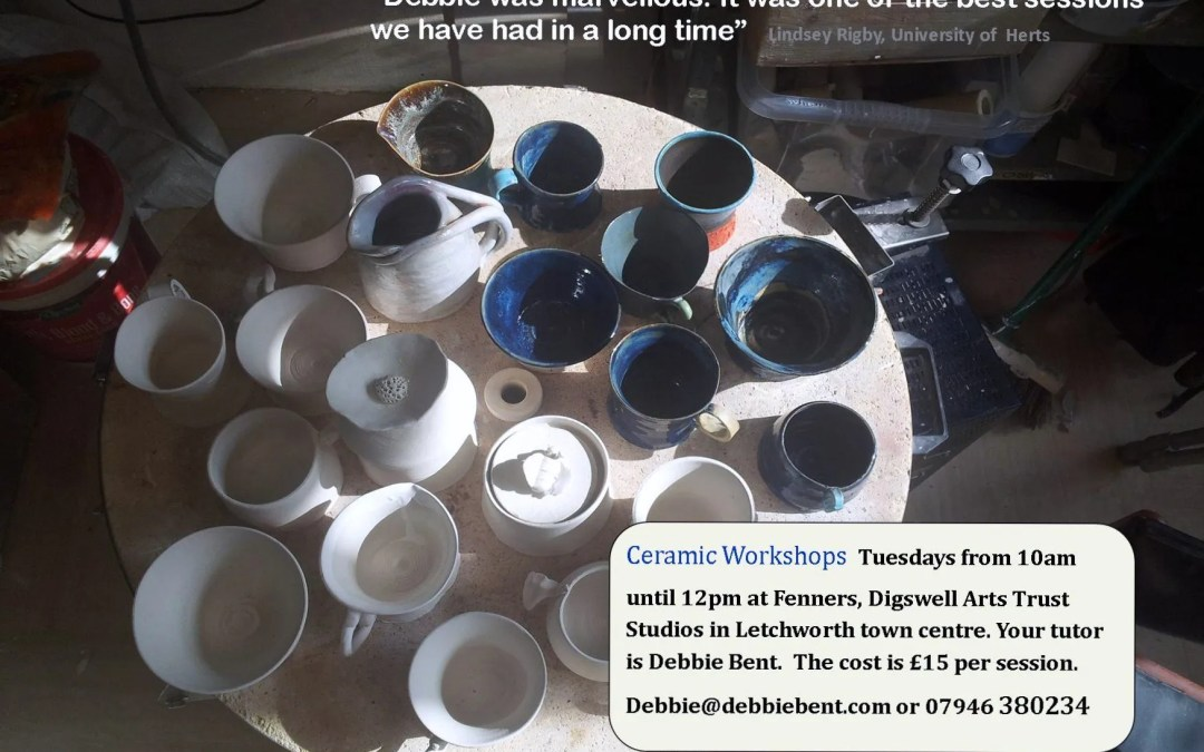 Ceramics Workshops at the Fenners