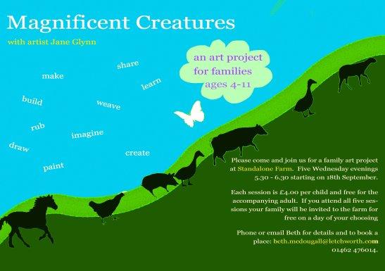 flyer magnificent creatures a