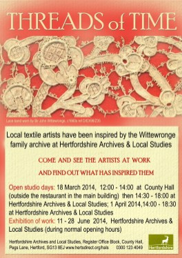 Threads of Time open days