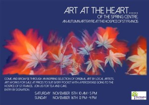 art at the heart - flyer