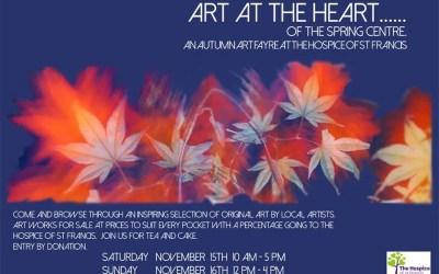 Spring Centre Art Fayre 15-16 November