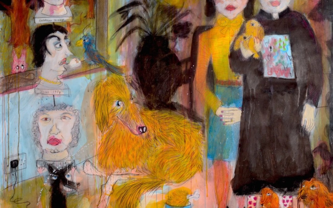 Solo Show: Hot Dogs and Problem Pets at Breese Little Gallery