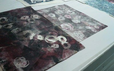 Coming Up; Multilayered Mono Print Workshop