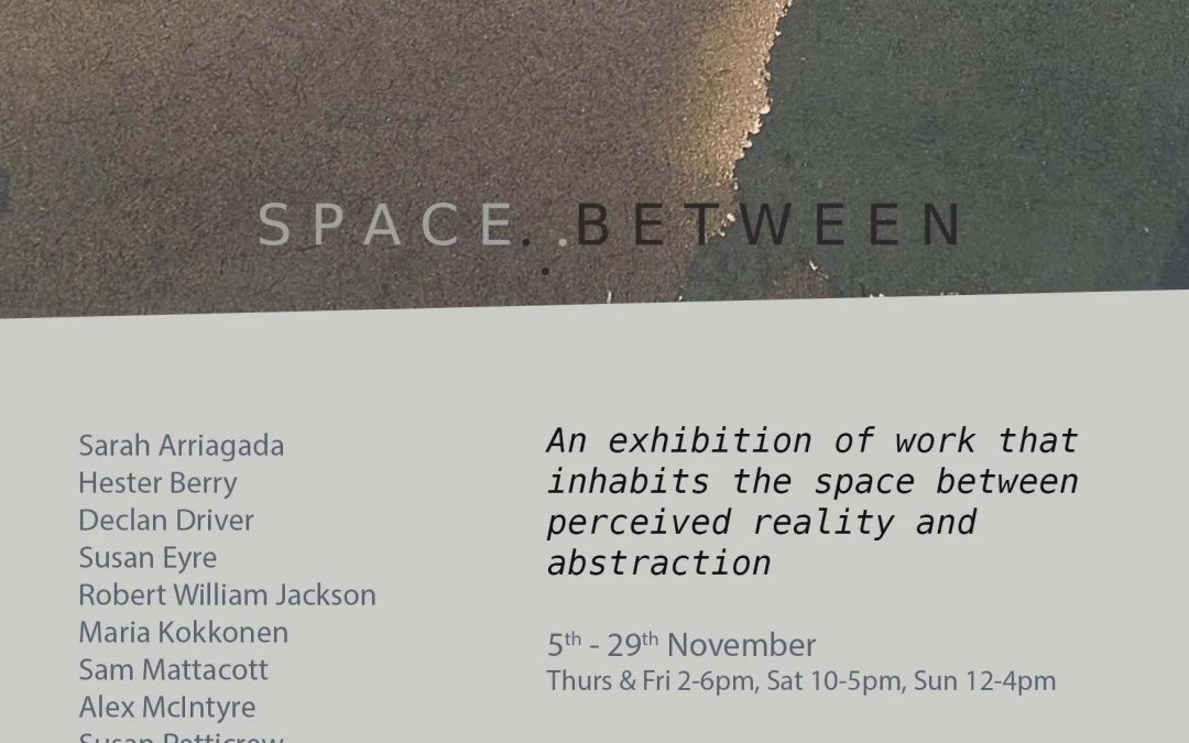 Alex McIntyre selected for 'Space Between' Exhibition