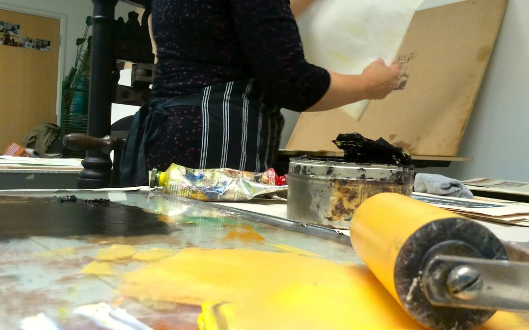 Spring  2016  Programme of Print Workshops at Digswell Arts