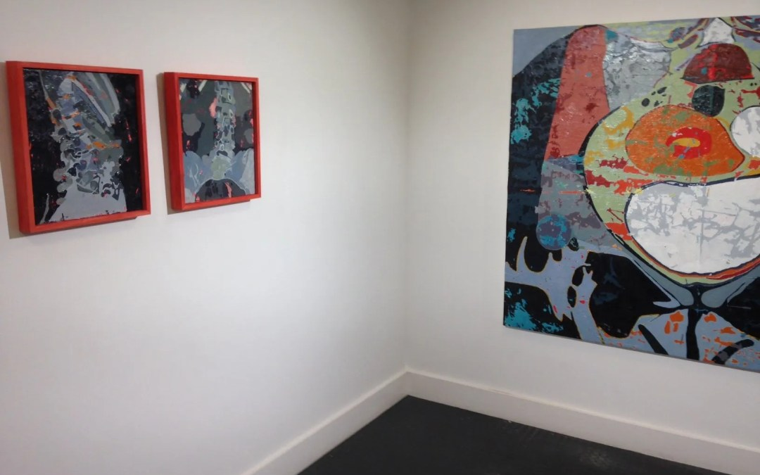 Louise Lahive exhibiting at the Broadway Gallery