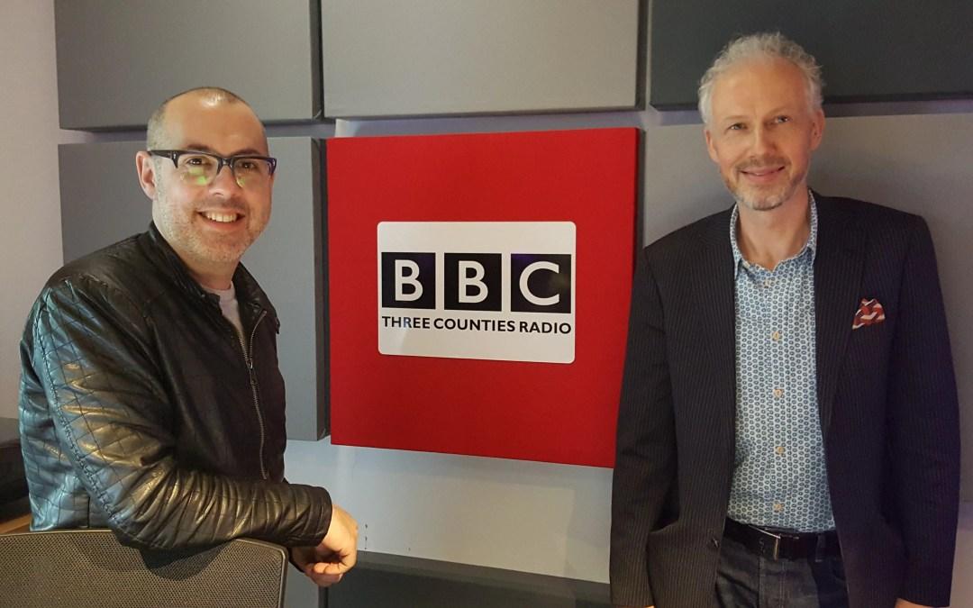 Dave Nelson Radio Interview on BBC Three Counties Radio