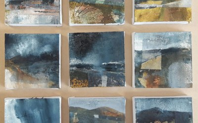 Alumni Gill Ayre showing new work at Herts Affordable Art Fair