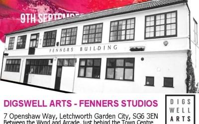 Herts Open Studios 2017 – at Fenners Studios