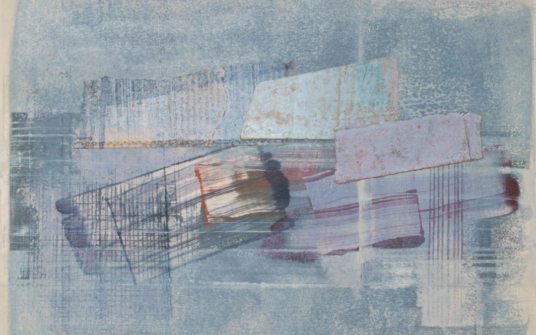 Sally Tyrie at Woolwich Contemporary Print Fair with Print Solo