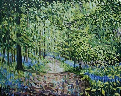 The Birds and the Trees – Cathy Smale & Christine Harrison – exhibition at The Art Nest