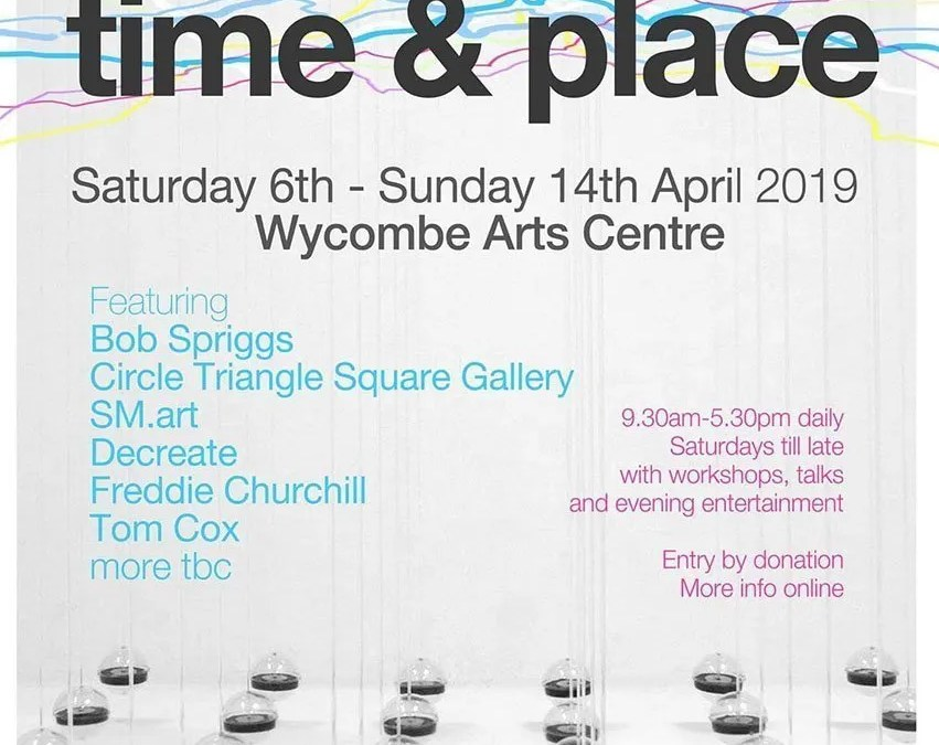 Time and Place; Bob Spriggs at Wycombe Arts Centre