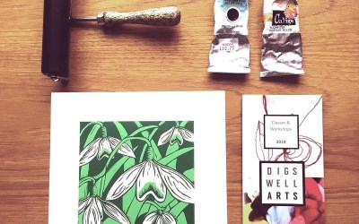 Two Colour Lino Print – Weekend Course