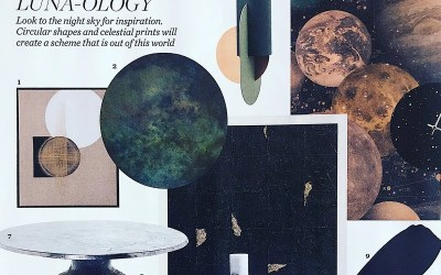 Juliana Loveday featured in Elle Decoration magazine