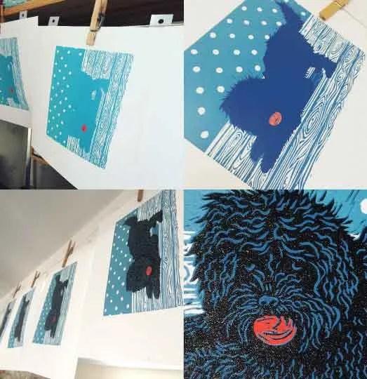 Reduction Linocut – Printmaking Workshop