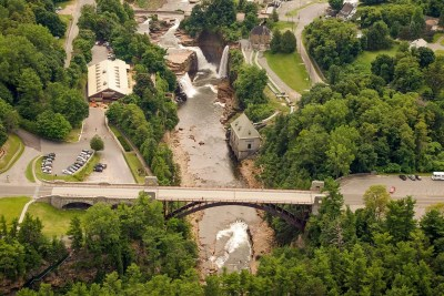 Ausable Chasm Aerial 1