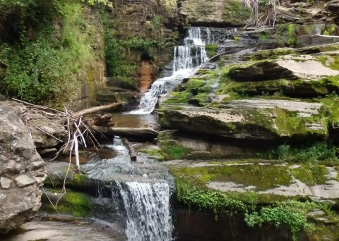Cattail Falls, Sullivan County, New York