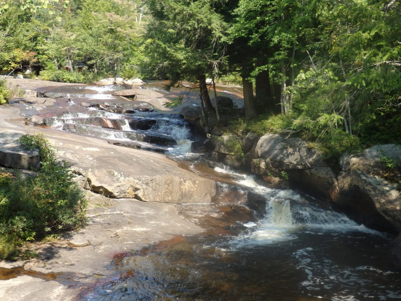 Twin Bridge Falls, Lewis County, New York