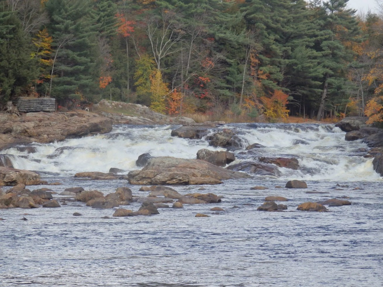 Shurform Falls, Moose River, Lewis County, New York