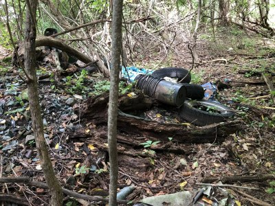 troy narrows poestenkill gorge trail cleanup