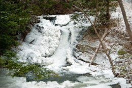 Millbrook Falls Winter