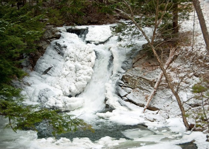 Millbrook Falls Winter