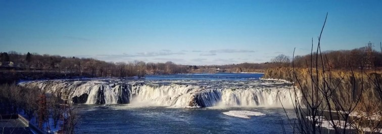 cohoes falls waterfall