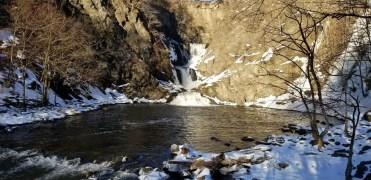 Mt Ida Falls waterfall