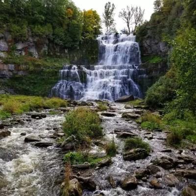 Chittenango Falls New York Waterfall