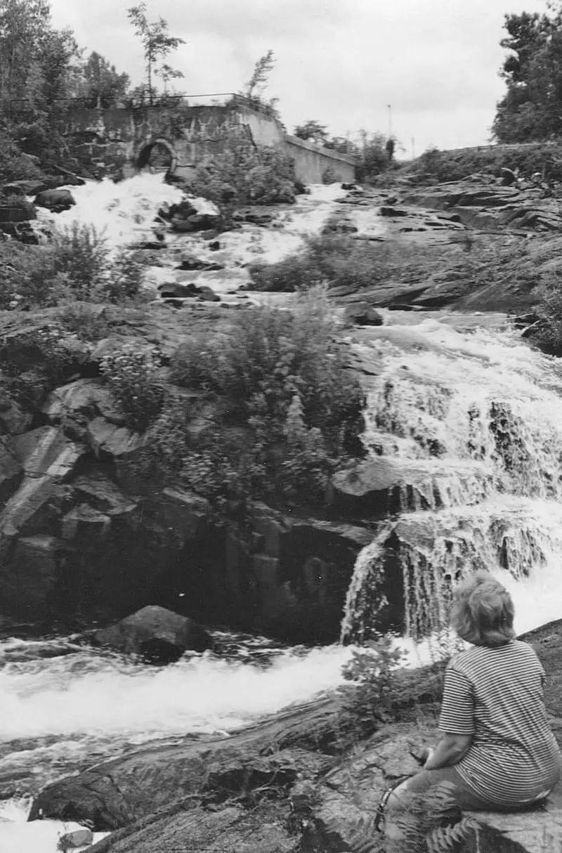 Upper La Chute Falls 1