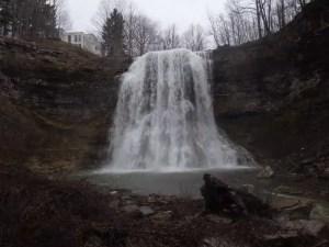 Brickyard Falls, Onondaga County, New York