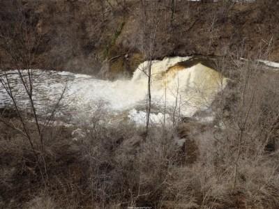 Medina Falls, Orleans County, New York 4-12-2014