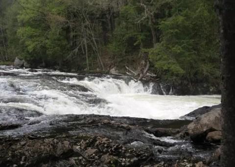 Raquette Falls, Franklin County, New York