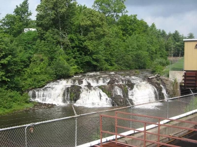 Rock City Falls, Saratoga County, New York