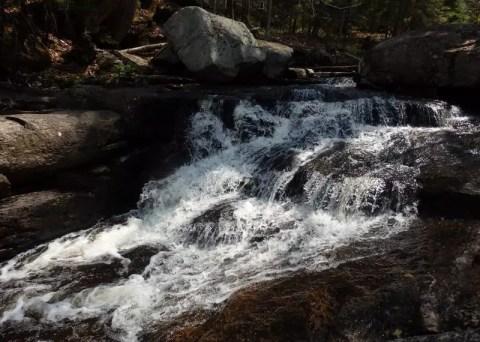 Whiskey Brook Falls, Hamilton County, New York
