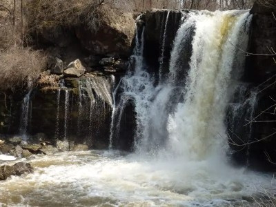 Akron Falls, Erie County, New York 4-13-2014