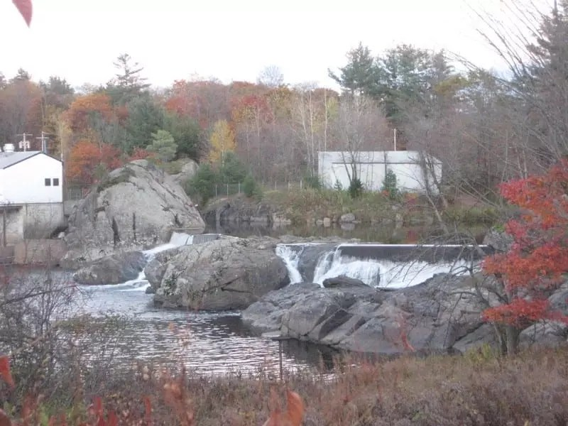 Port Leyden Dam and Falls, Lewis County, New York 10-16-2008