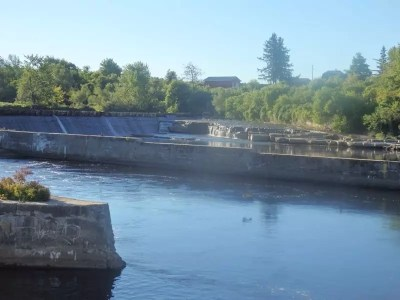 Dexter Dam and Falls #1, Jefferson County, Ny 12-15-2012