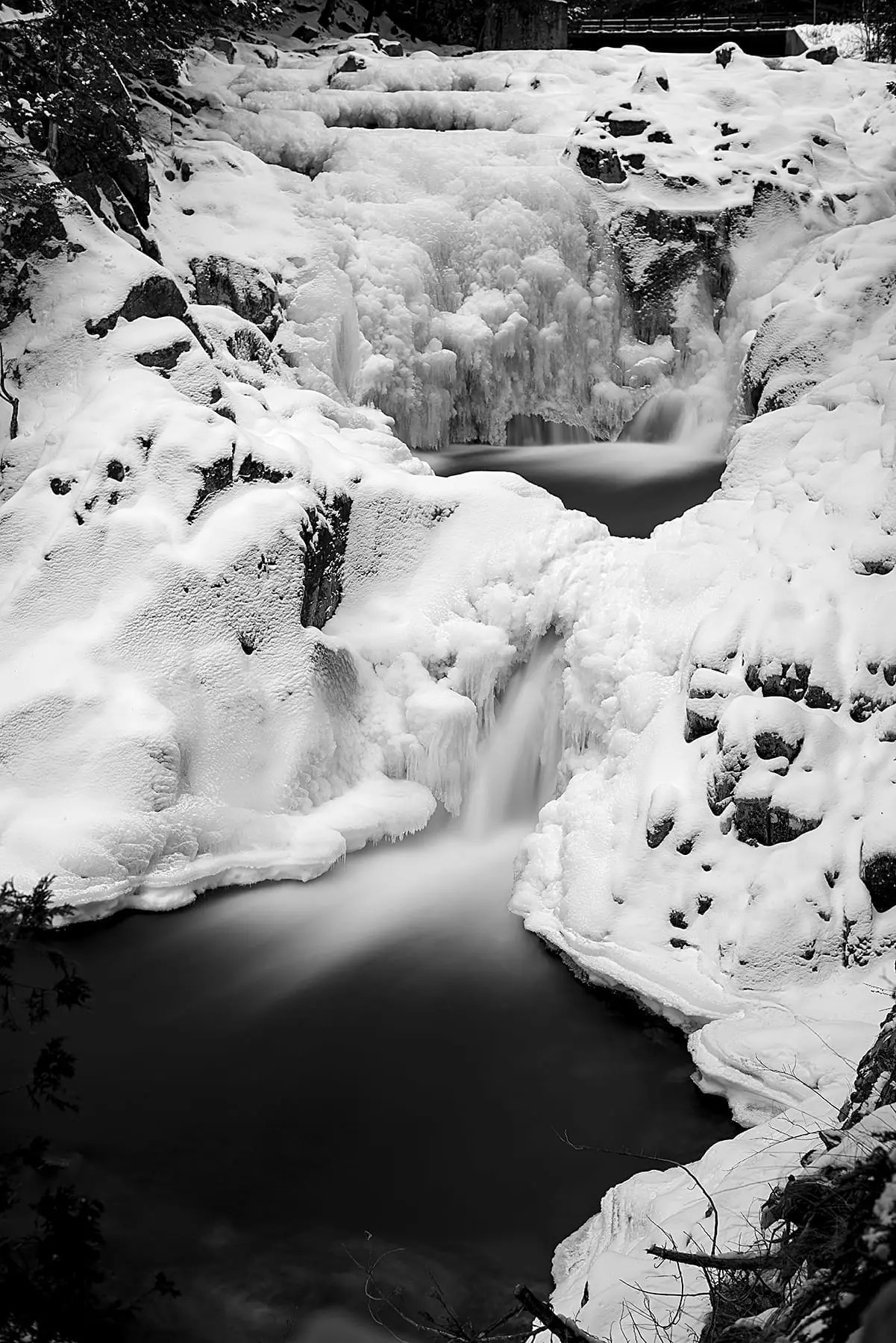 Split Rock Falls Adirondacks
