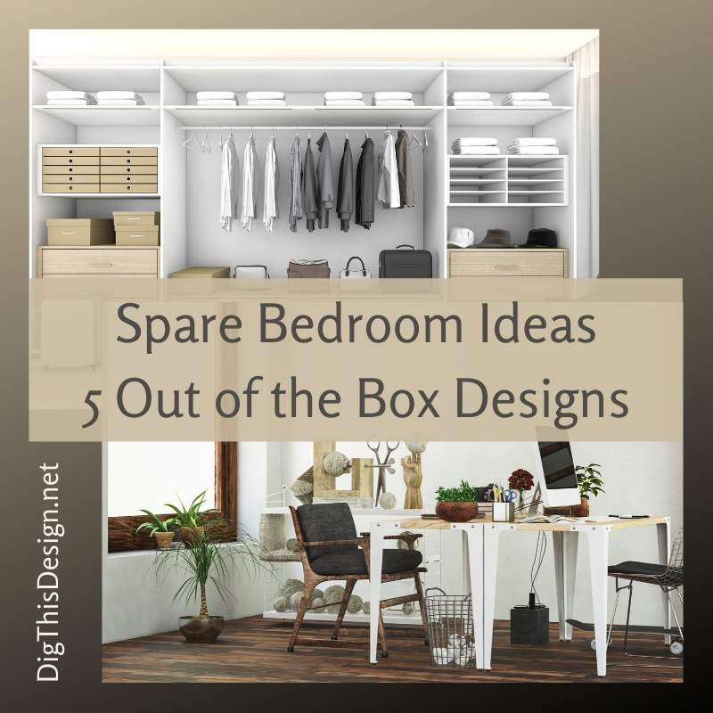 Spare Bedroom Ideas 5 Out Of The Box Designs Dig This Design