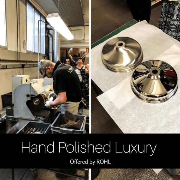 Design Hounds - Milan 2018, ROHL factory tour.
