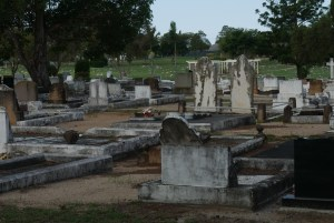 Cemetery at Redcliffe