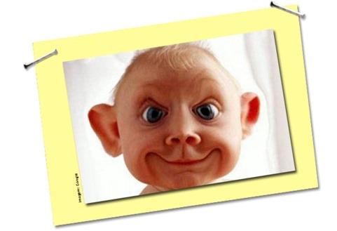 Filhos feios e mães que contam mentiras