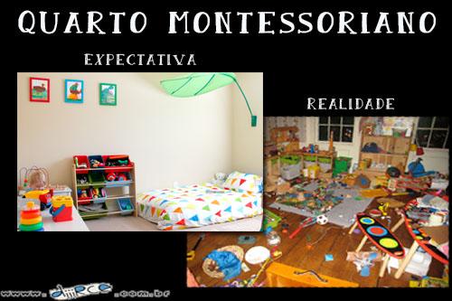 Quarto montessoriano: expectativa e realidade