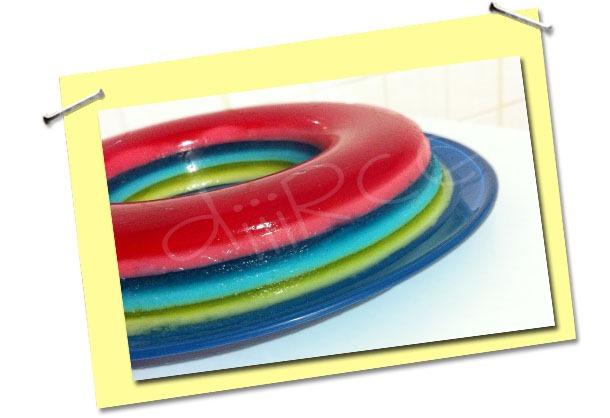 Gelatina Arco-Íris: receita exclusiva da diiirce
