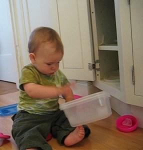 Brincadeira para bebês