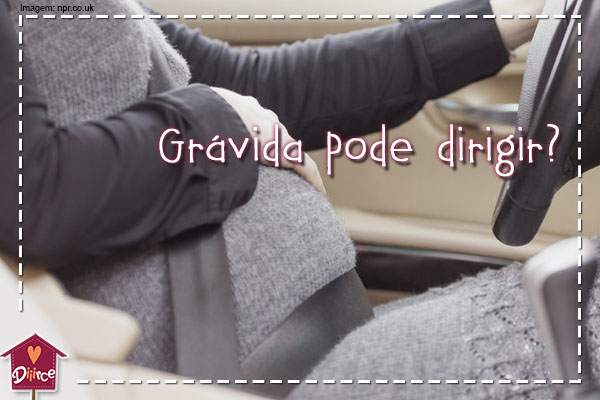 Grávida pode dirigir? Dicas para a segurança ao volante