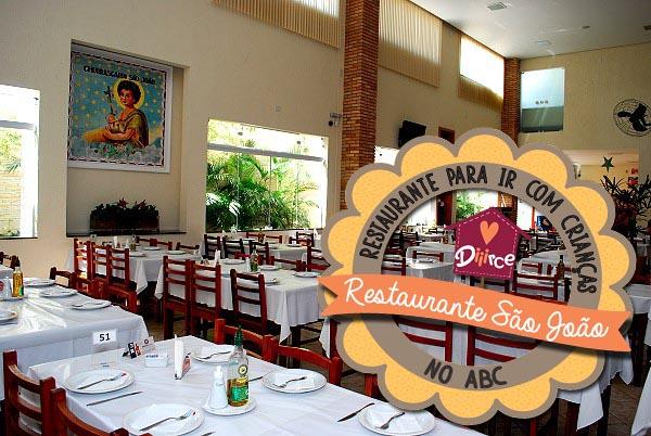 restaurante com espaço criança no ABC